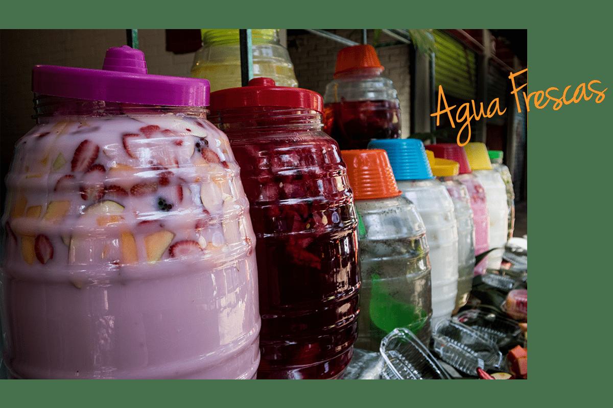 What is an agua fresca?