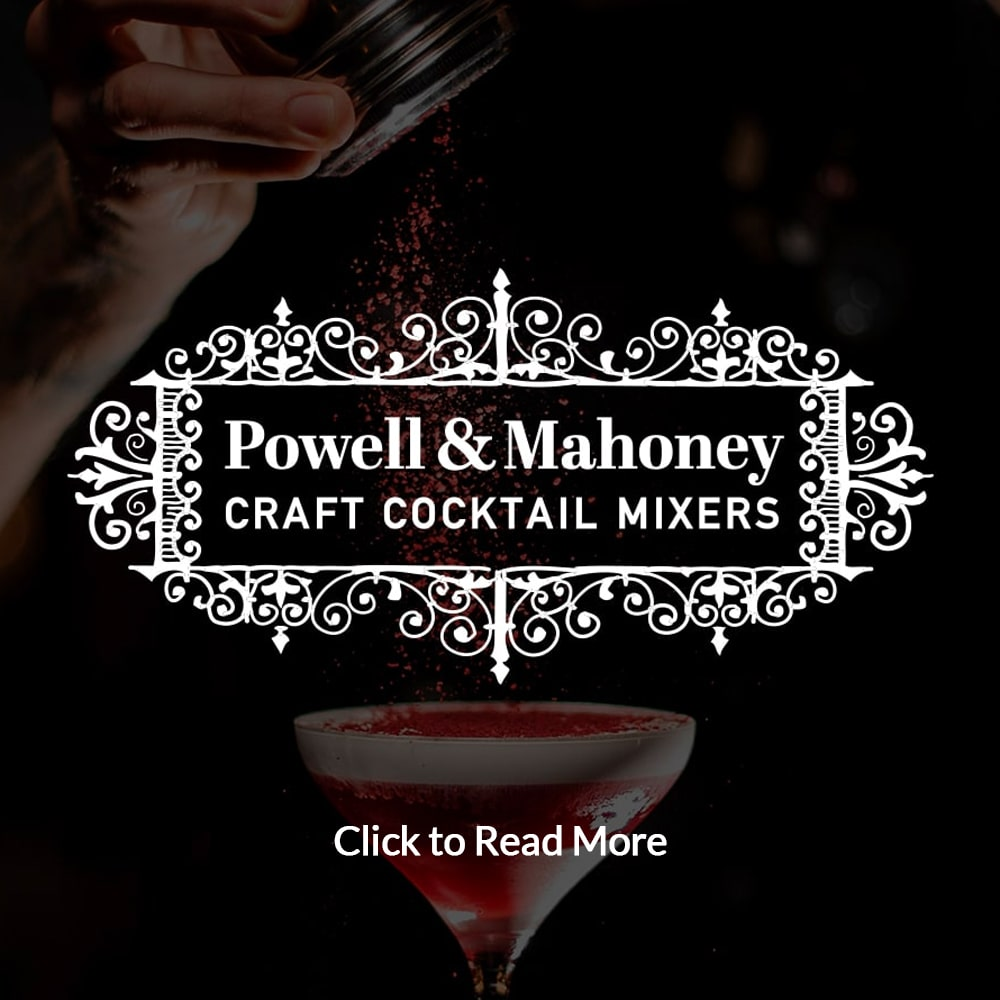 Powell and Mahoney Craft Cocktail Mixers by Leahy-IFP